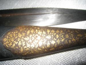 кинжал кубачинский