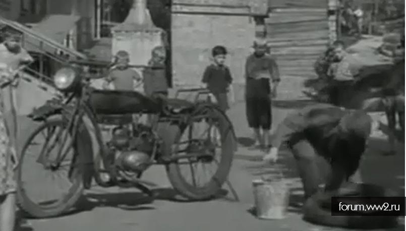 Мотоцикл Индиан в советском кино:)