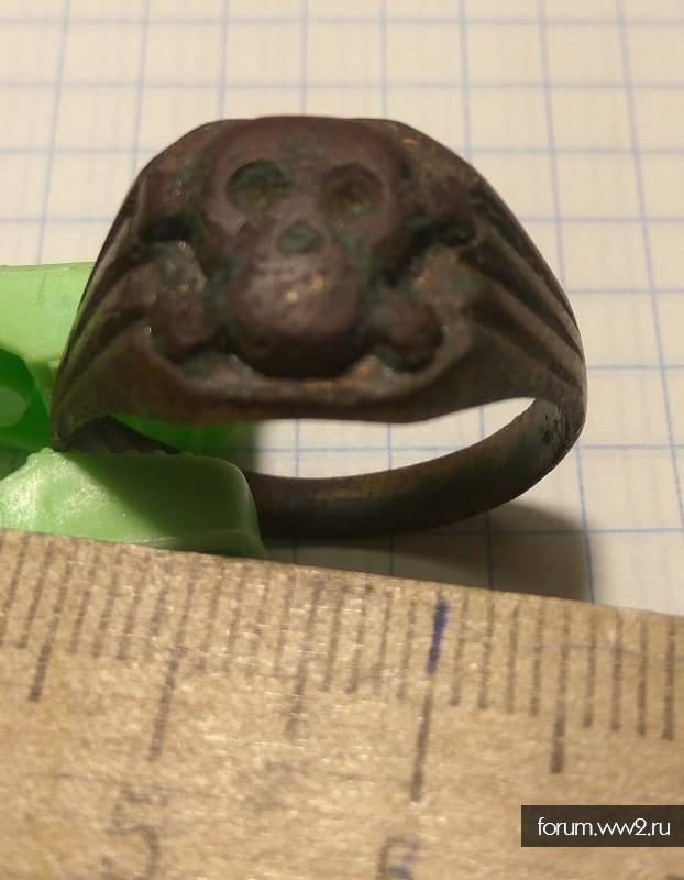 Перстенек с черепом