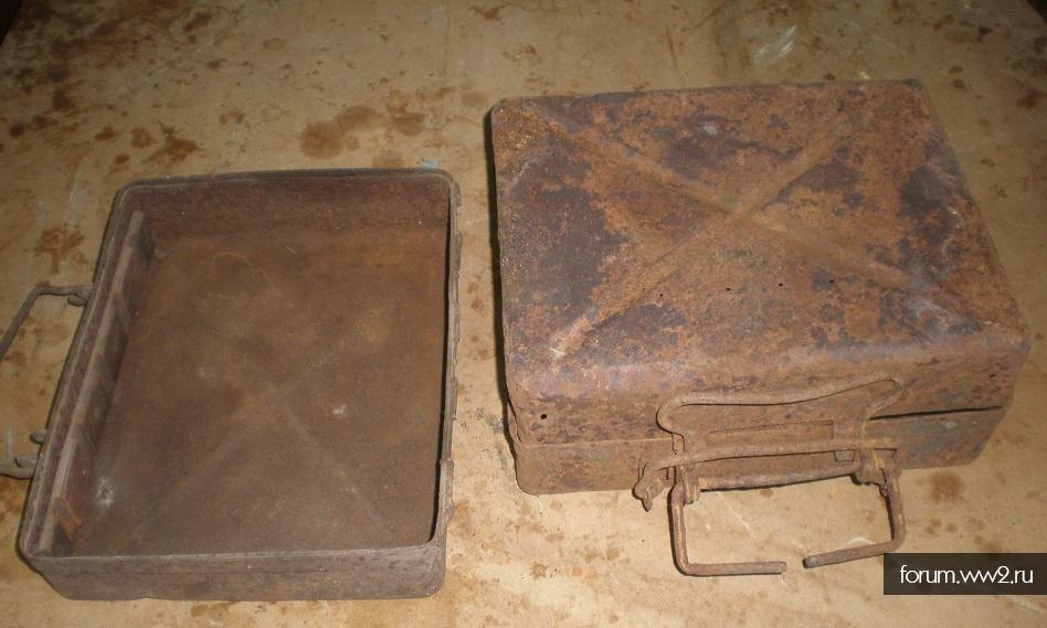 Полтора ящика 50мм минометных мин вермахт