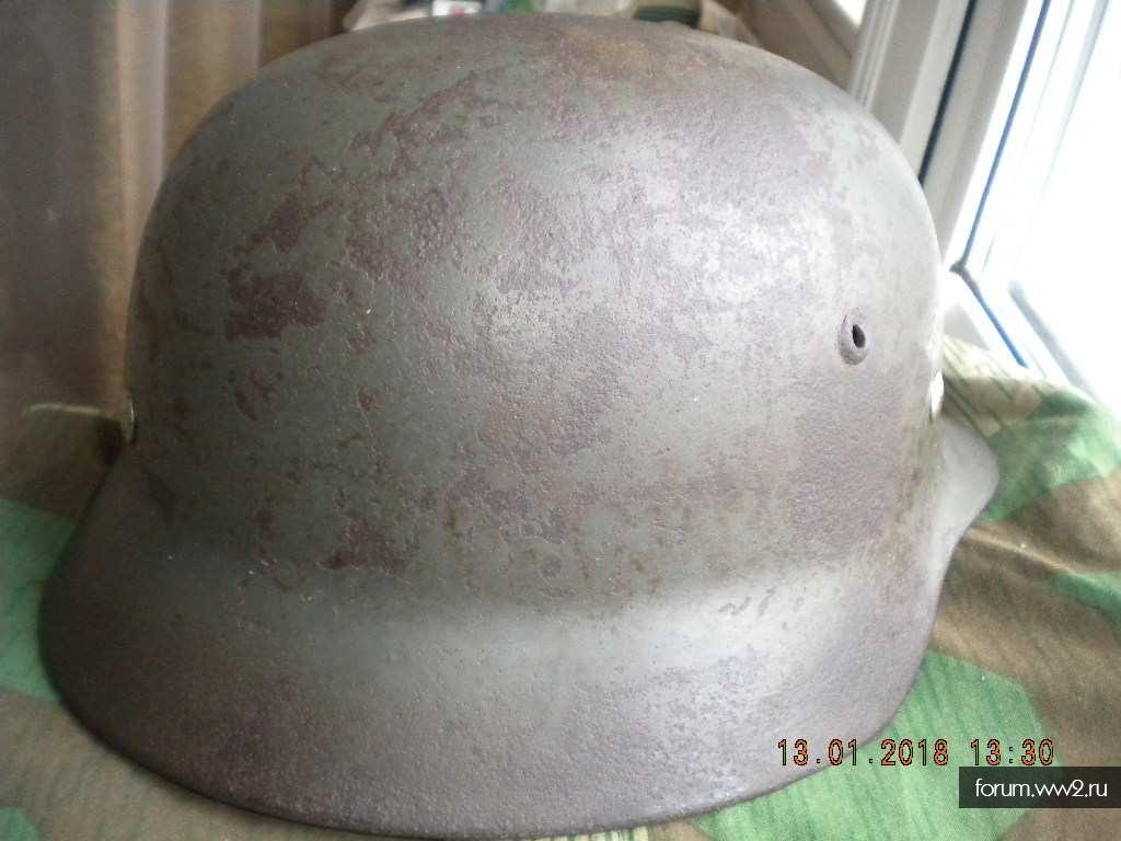 Шлем М35  SE66 с неплохой птицей.