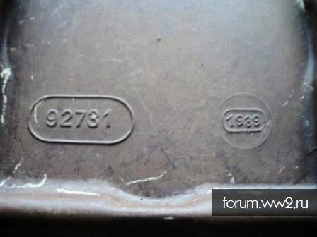 Бакелитовая коробка для взрывателей, вермахт 1939 год