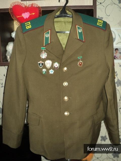Китель парадный,солдатский ПВ СССР.
