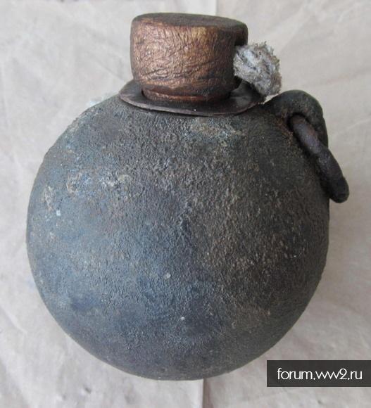 Макет болгарской ручной гранаты русско-турецкая война