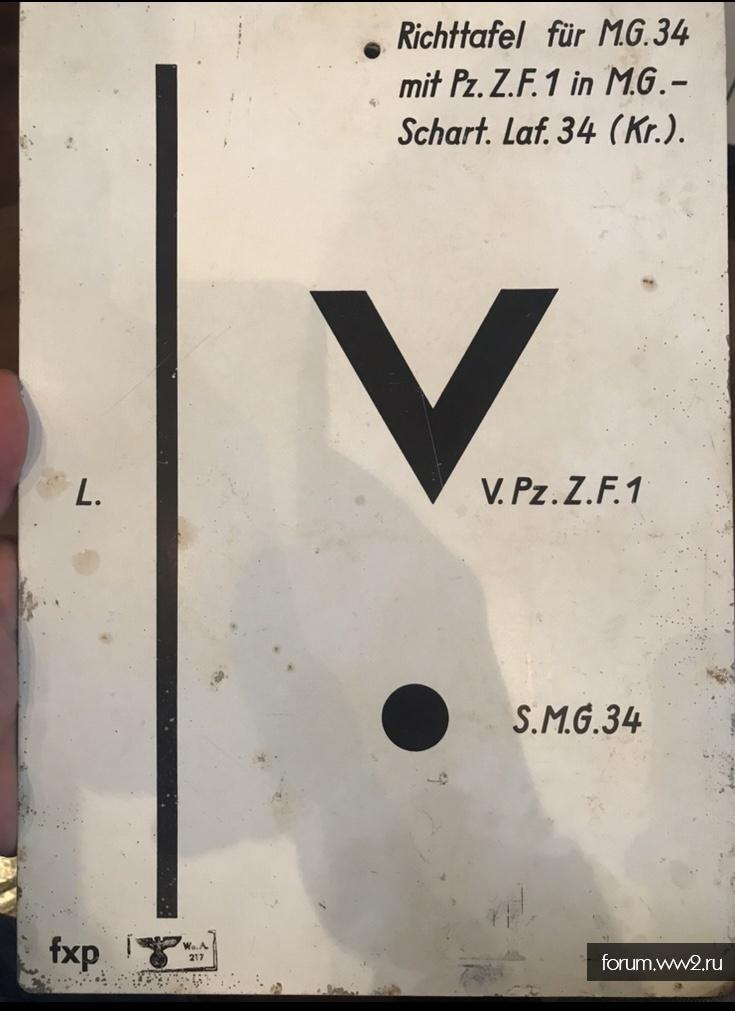 табличка на оценку
