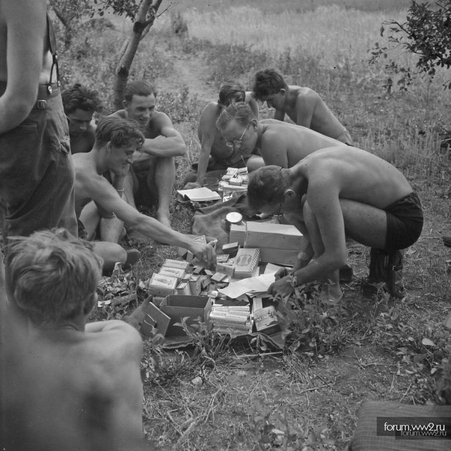 Предметы личной гигиены в Вермахте