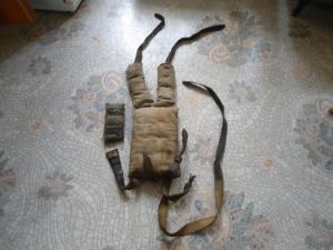 переноска    -  Вьюк  миномётчика   ( для  ног)