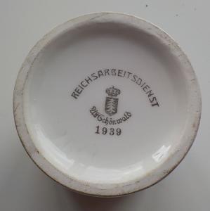 Горчичница Reichsarbeitsdienst, RAD. № 2