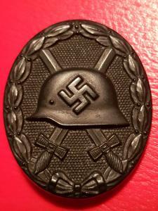 verwundetenabzeichen schwarz с миниатюркой.