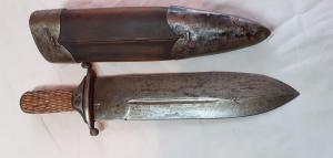 Охотничий кинжал, оригинал или новодел?