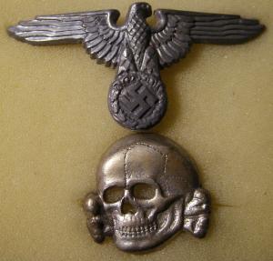 Орёл и череп СС
