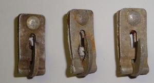 Крюки (зацепы) с чехла германского шлема