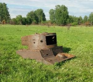 Подбашня и башня Т-26