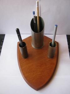 Подставка под карандаши/ручки/мелкий инструмент из гильз