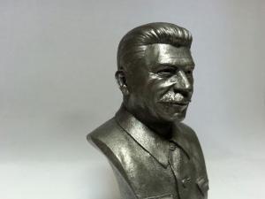 миниатюра бюст Иосиф Сталин (металл)