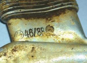 Антуражная фляга SS 46/38 RZM