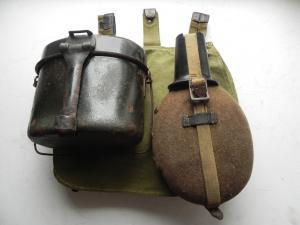 Фляга, Сухарная сумка, Котелок WH