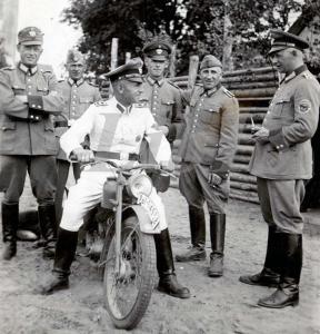 Редкое фото Polizei
