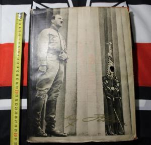 Книга-фотоальбом Адольф Гитлер Adolf Hitler 3 Рейх оригинал - 02