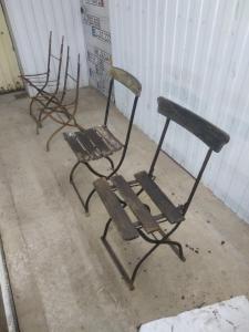 Складные стулья германской армии
