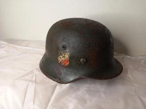 Каска вермахта со Сталинграда