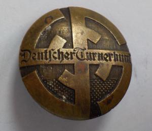 """Членский знак """"Deutscher Turnerbund"""" - Немецкая Федерация Гимнастики."""