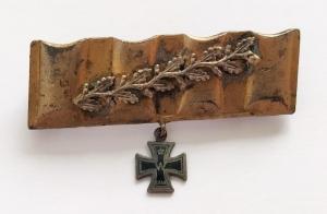 Миниатюра железного креста 2 класса 1914 года