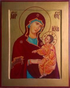 Икона Божией Матери Одигитрия.