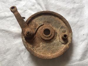 Опорник переднего колеса мото