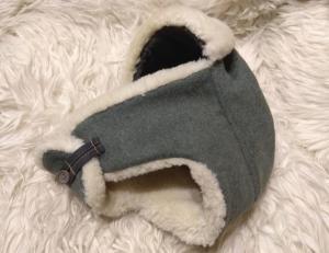 Зимняя шапка ушанка на Вермахт и СС