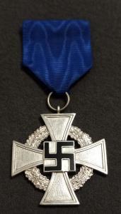 """Крест """"За верную службу"""" за 25 лет выслуги."""