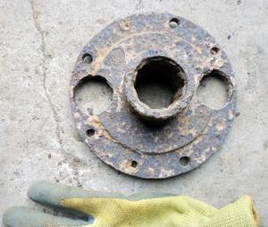 Газ-ААА, фланец кардана