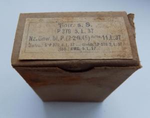 Оригинальная коробочка для патрон  к98