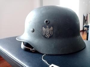 Оригинальны пехотный шлем м40 (  М40-Q64- Heer-Sd)
