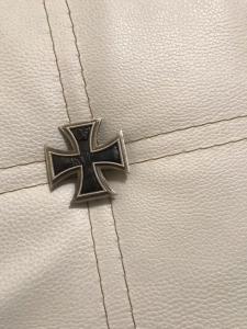 Железный крест 1 класса из серебра Коп