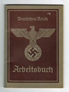 Трудовая книжка (arbeitsbuch) 2 модель -12
