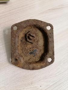 Крышка рулевого редуктора газ аа