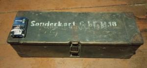 Ящик  для зарядов пушки IFH18(Ieichte Feldhaubitze 18).