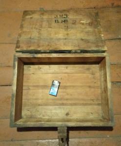 Советский ящик для 82мм мин