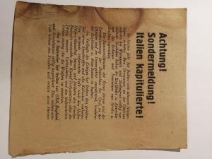 Советская агитационная листовка