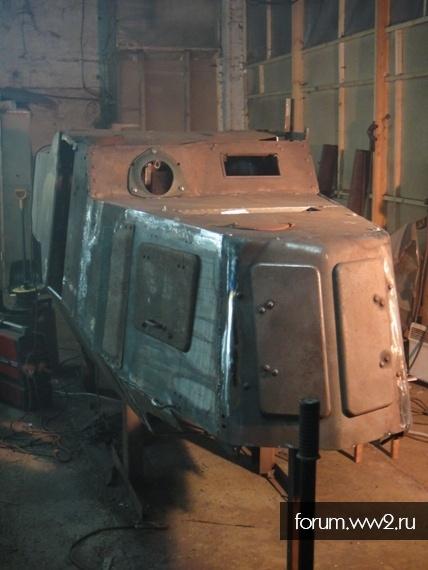 Реставрация БА-10 : немного покатались.
