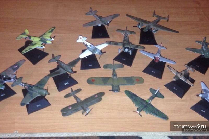Журнал ,, легендарные самолёты ''