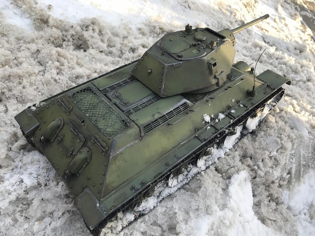 Танк Т-34/76 полностью Металл