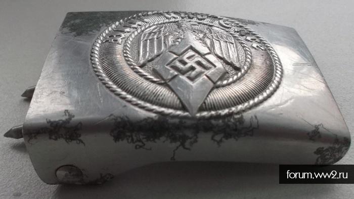 Пряжка Гитлерюгенд, аллюминевая