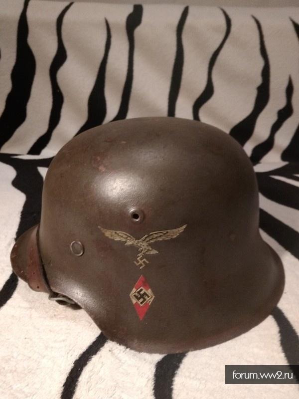 Шлем м42. Люфт