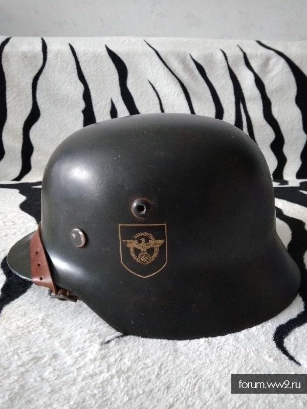 Шлем м 35. Полиц