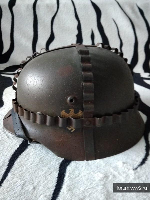 Шлем м 35 с обвесом