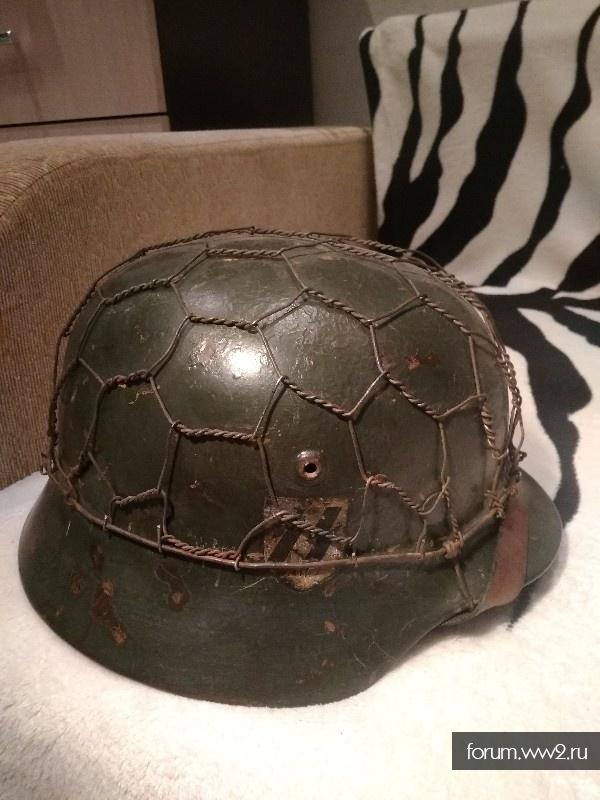 Шлем м 35. СС