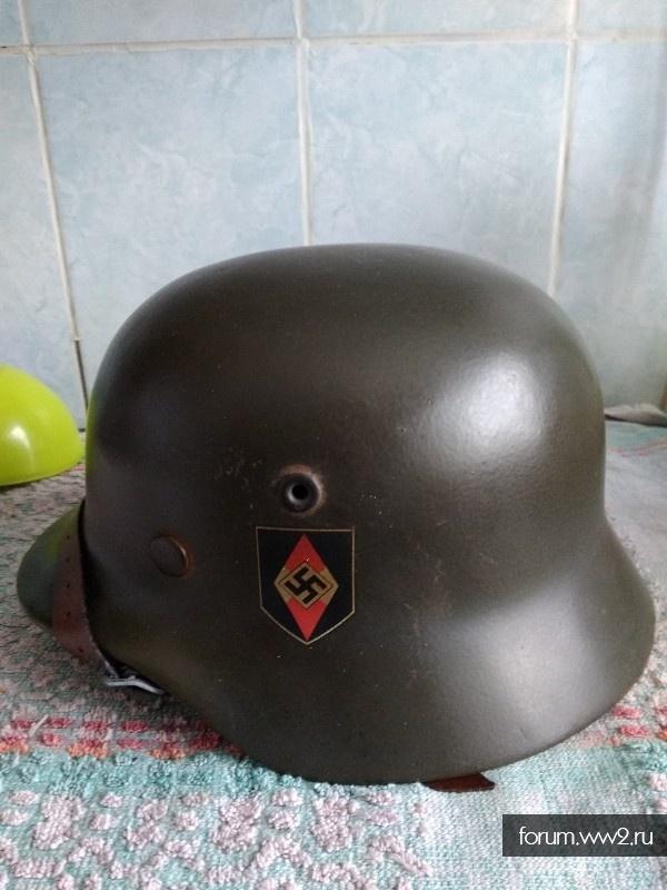 Шлем м 40. Гитлерюгенд