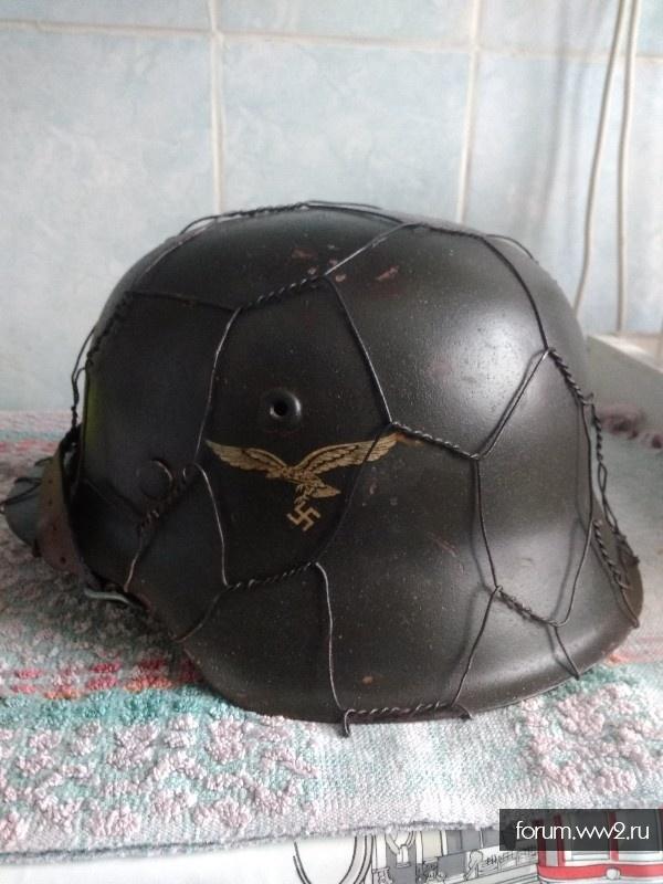 Шлем м 42. Люфт.